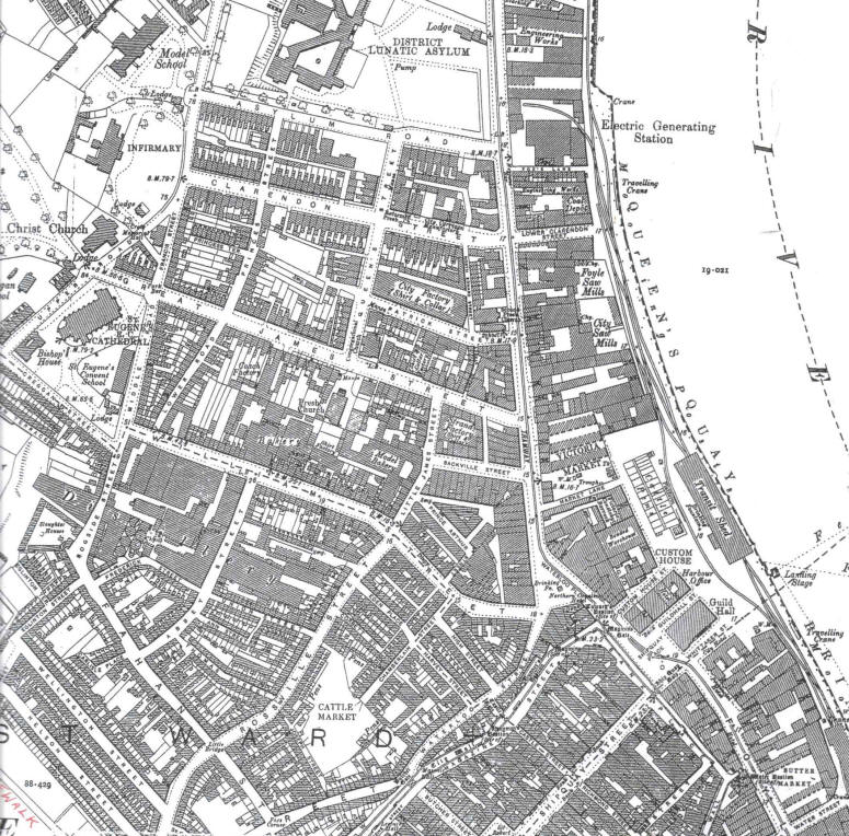 Map of City of Derry/Londonderry 1905