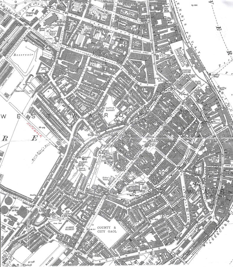 Map of City of DerryLondonderry 1905